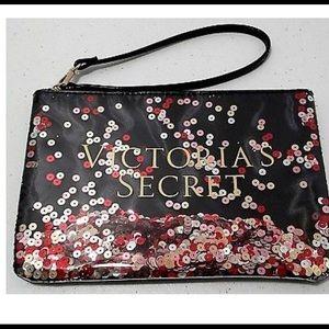 Gorgeous Victoria secret sequins wristlet